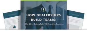 DrivingSales HR Best Practices: Research Results Overview