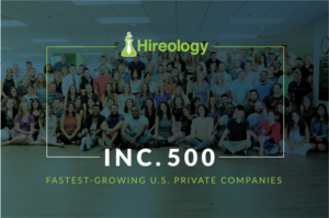Hireology Ranked No. 332 on the 2017 Inc. 500 List