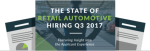 The State of Retail Automotive Hiring Q3 2017